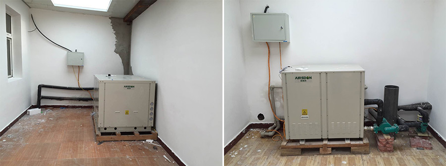 Water and Ground Source Heat Pump